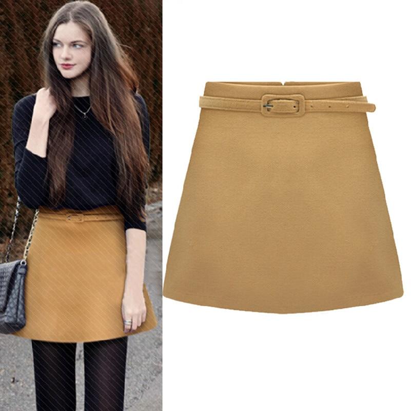 Aliexpress.com : Buy 2015 Autumn Winter Fashion High Waist Skirt ...