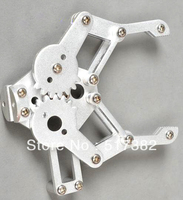 Braçadeira de braço robô de alumínio para manipulador robótico pata diy rc brinquedo controle remoto
