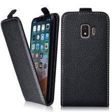 J4 2018 Caso para Samsung Galaxy J4 2018 SM-J400F J400 Coque TPU Bonito 3d Emboss Flor Animal Telefone Leather flip caso