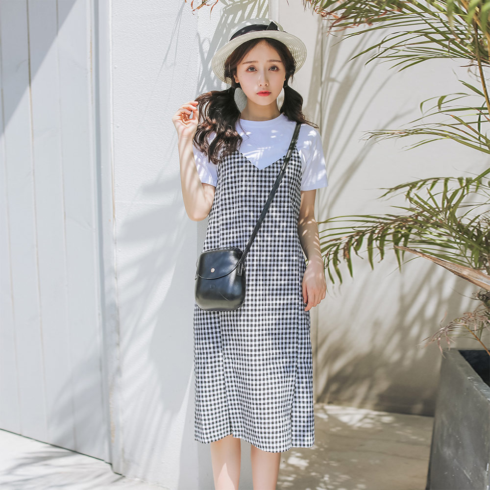 Women's Clothing Smart Casual Loose Lace Collar Dress Womens Dresses Ins Lady Kawaii Ulzzang Female Vintage Harajuku Punk Clothes For Women Chic Ins