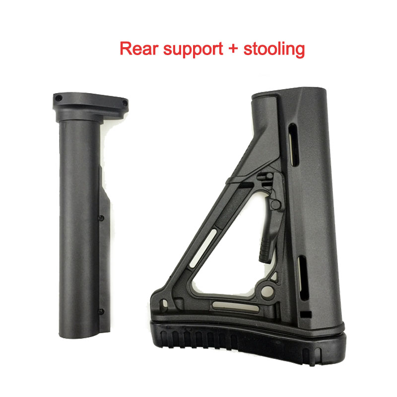 Outdoor Battle JinMing 8 Generation Stock Core Fishbone Support M4 Water Bomb Gun Stock Core Original Factory Refit Fitting KI41