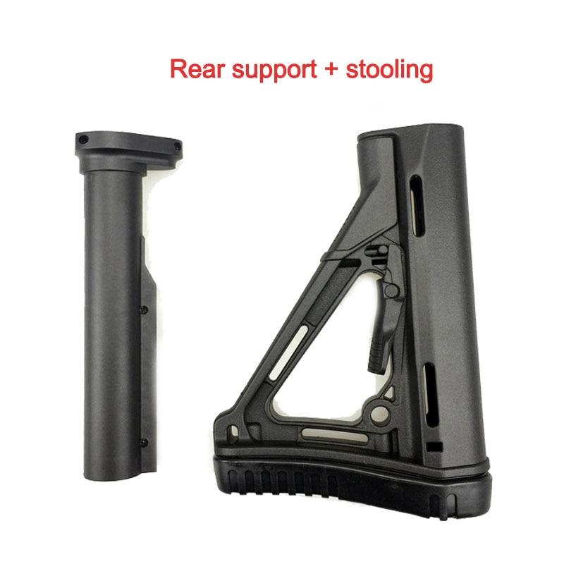 Outdoor battle JinMing 8 generation stock core fishbone support M4 water bomb gun stock core original factory refit fitting KI41(China)