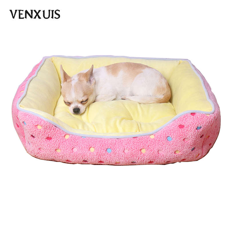 Venxuis Cashmere Soft Winter Pet Dog Mat Kennel Nest Autumn Warm Cotton Blanket House Pet Cat Cushions Dog Bed Pet Supply