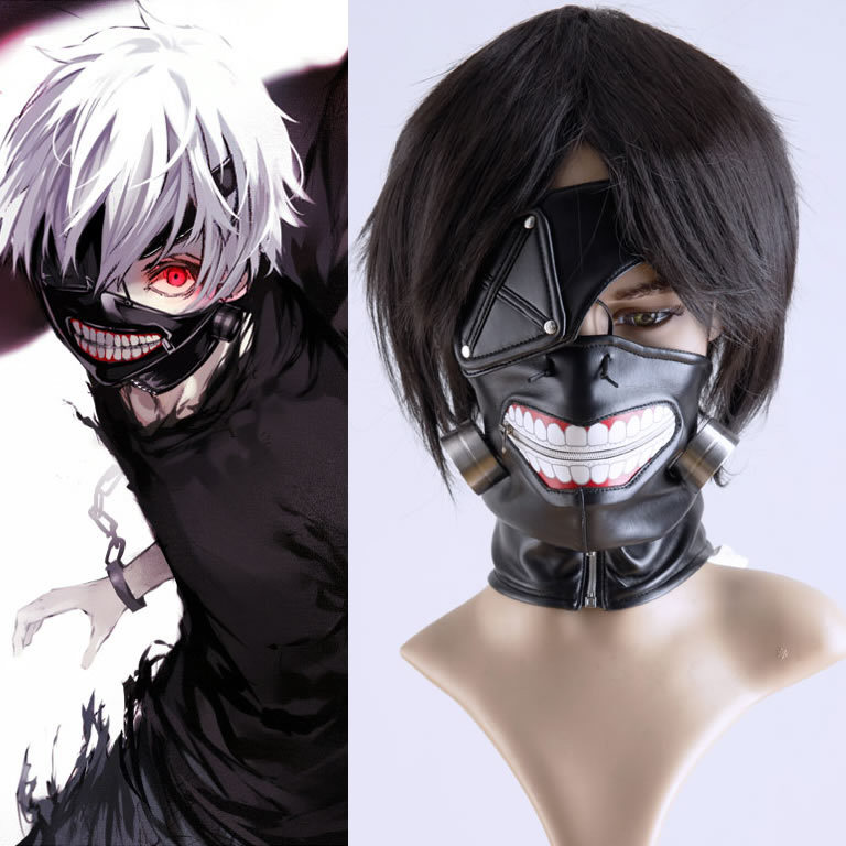 том, токийский гуль красивые картинки маска показан процесс