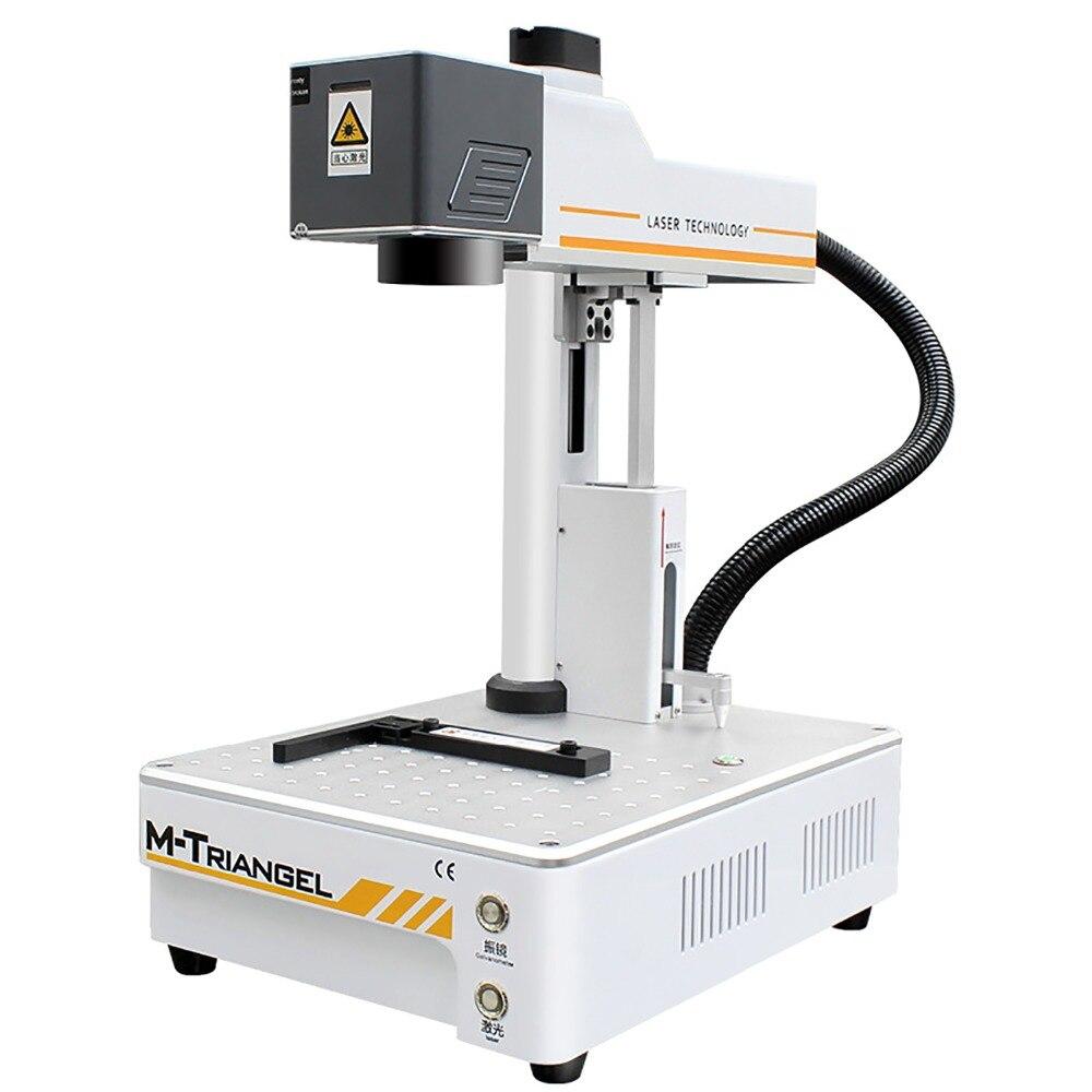 2019M-Triangel máquina de separación láser para IPhoneX XS Max 8 8 + removedor de vidrio LCD de reparación de Marco LCD por separado