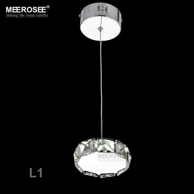 Small Crystal LED Pendant Lights Fixture Star Round Square Shape Hanging Suspendu Lamp Aisle Corridor Porch Lamp Modern Lighting