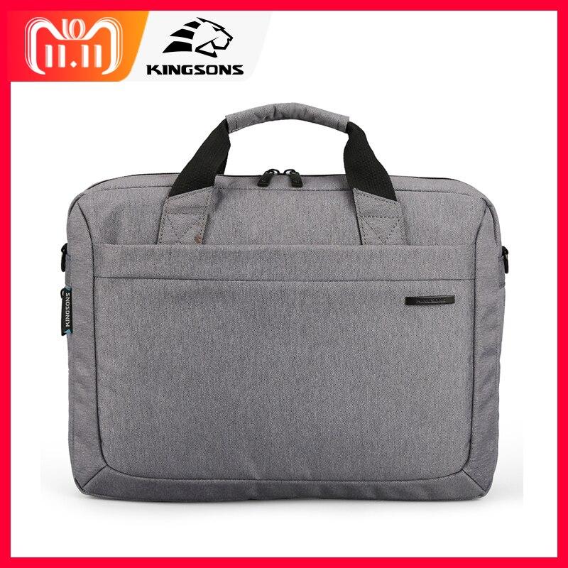 Kingsons Brand Waterproof 12.1,13.3,14.1,15.6 inch Notebook Computer Laptop Bag for Men Women Briefcase Shoulder Messenger Bag все цены