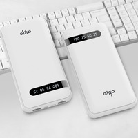 Aigo Power Bank 20000mAh LCD Battery Charger For IPhone IPad Samsung Xiaomi Mi Dual USB Powerbank