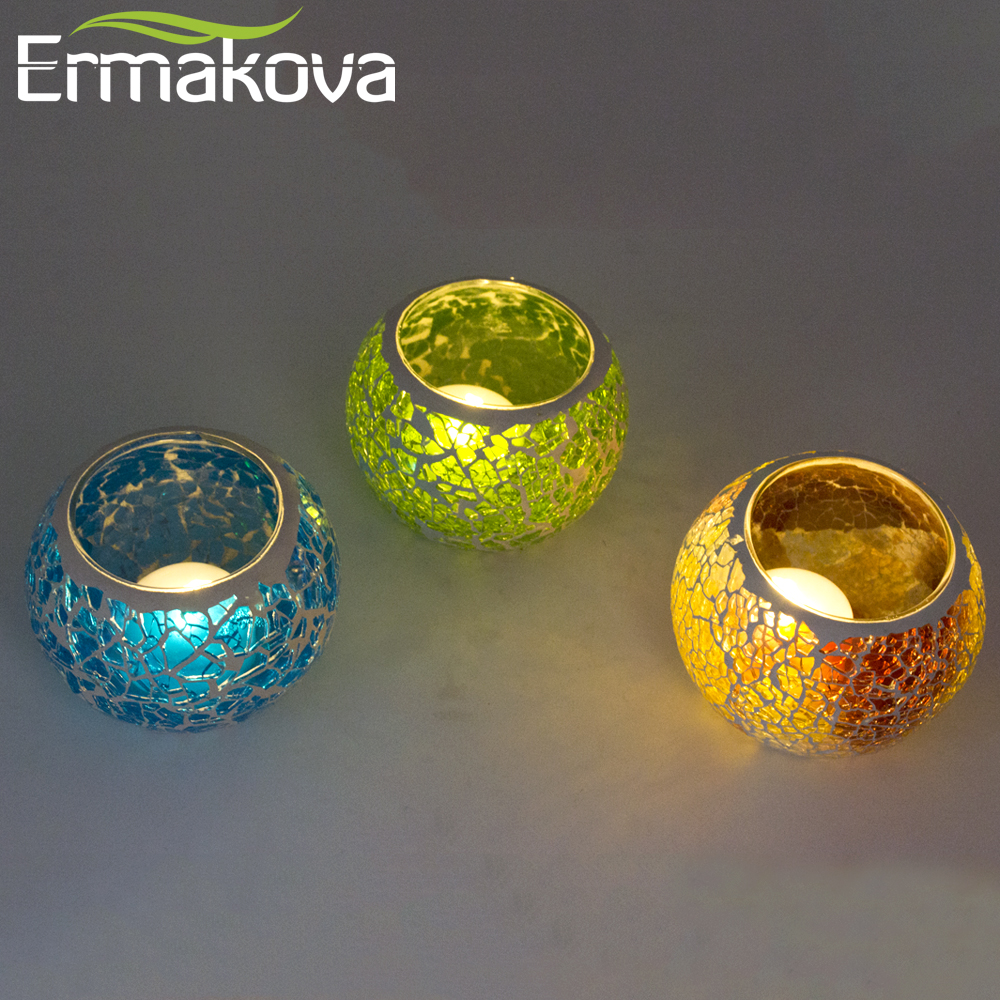 online get cheap silver mosaic candle holders -aliexpress