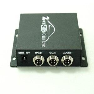 Image 3 - Mini DVR móvil de 2 canales, compatible con CVBS/AHD 5.0MP/tarjeta dual SD HD 2018 P, 2 canales, vehículo, autobús, DVR, con control remoto, novedad de 1080