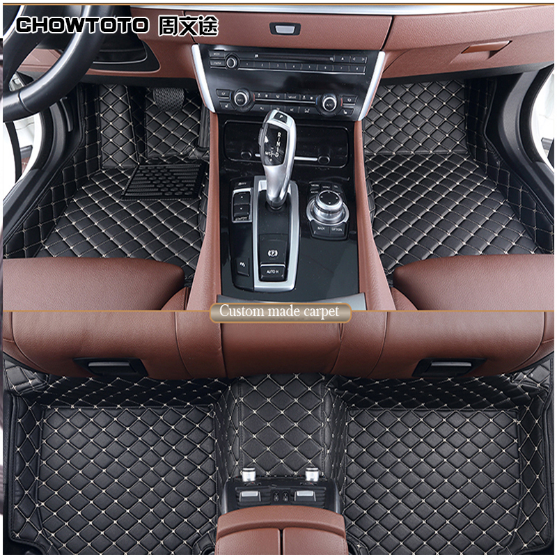 CHOWTOTO Custom Special Floor Mats For Jeep Patriot/Commander Durable  Waterproof Carpets For Patriot/Commander