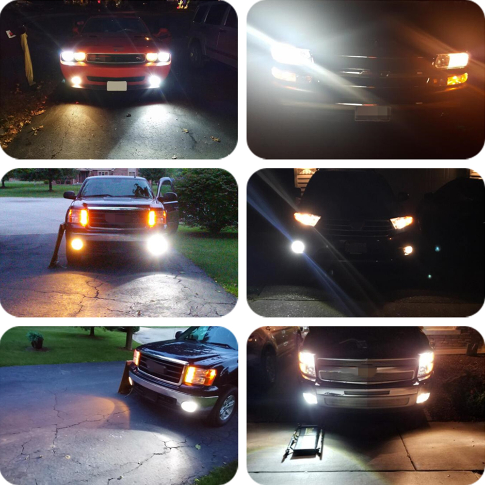 Image 5 - Castaleca 2X H1 LED H4 H7 Car Lights Front Fog Lamp H3 H11 9005 9006 Driving Turn Signal Light Bulbs Canbus 3000Lm Car Styling-in Car Headlight Bulbs(LED) from Automobiles & Motorcycles