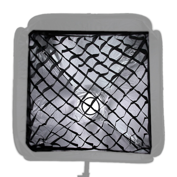 Nid d'abeille Grille 60 cm/24 pour Studio/Strobe Light Flash Parapluie Softbox Diffuseur