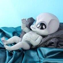 Poupée réaliste reborn Alien de 14 pouces, jouet à collectionner en vinyle peint à la main