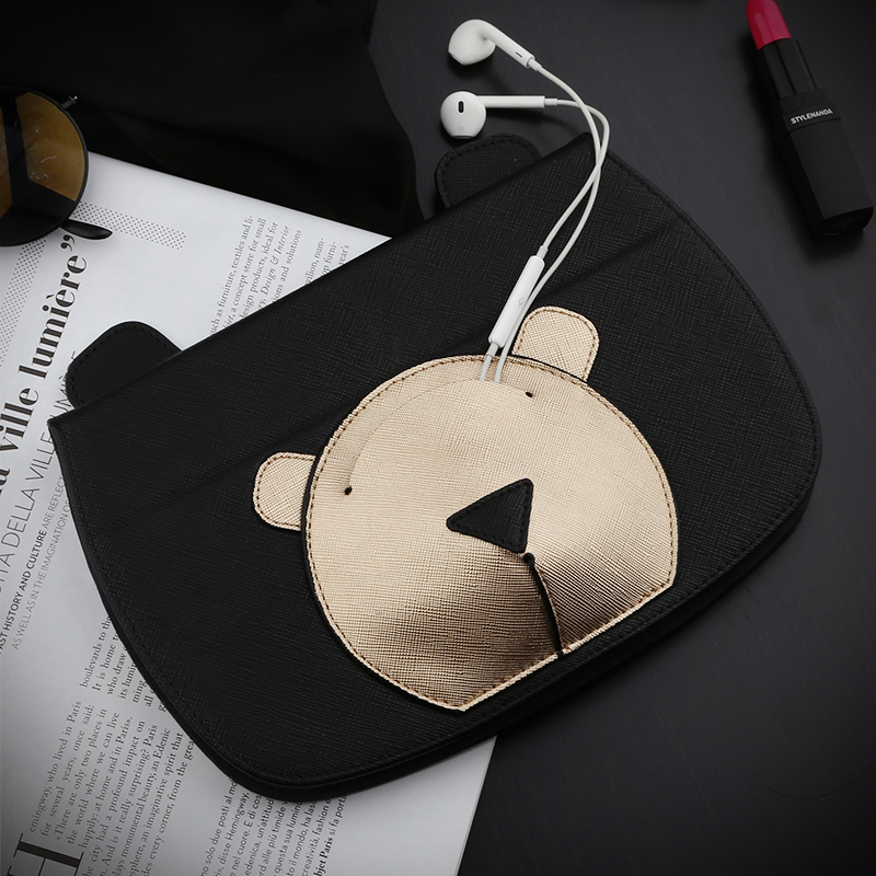 Cute Smart PU Leather Case Flip Cover For Apple iPad Mini 4 Mini4 7.9 Tablet Case Cover Protective Bag Skin with Earphone Bag nice soft silicone back magnetic smart pu leather case for apple 2017 ipad air 1 cover new slim thin flip tpu protective case