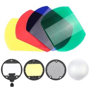 Image 2 - TRIOPO MagDome цветной фильтр отражатель сот фотоаксессуары наборы для вспышки GODOX YONGNUO