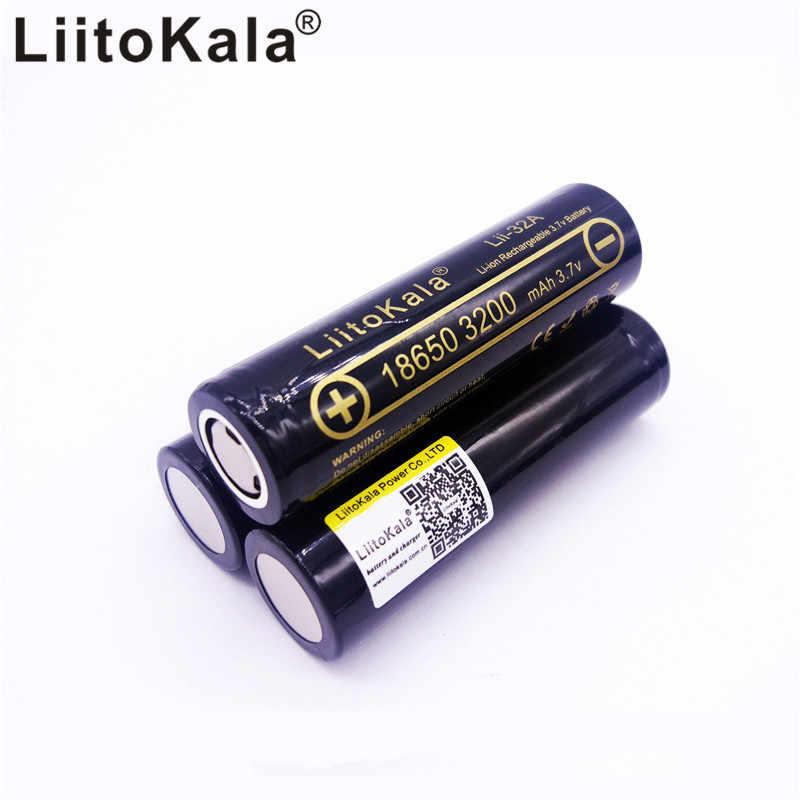 2 pcs Lii-32A 3.7 V 18650 3200 mAh pour MH1 10A Batterie au Lithium-ION Batterie Rechargeable 18650 e-Bike Batterie Balance /électrique