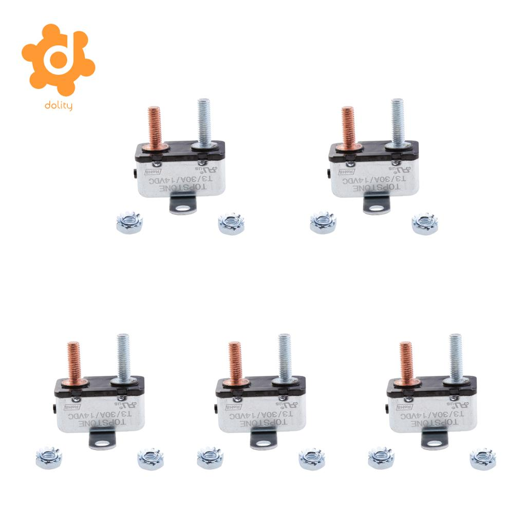 Auto Reset Circuit Breaker Optifuse Breakers Automotive Manual Type Iii Dolity A Automatic Fuse Stud Bolt In Fuses From Automobiles Motorcycles