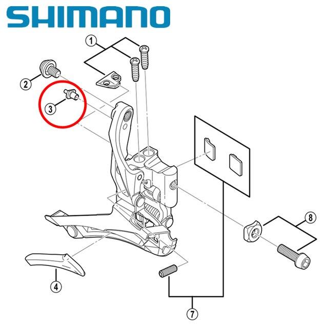 Shimano Road Bike 4700 Fd 4700 5800 6800 Front Derailleur Repair