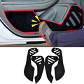 2 Colors Car Styling Protector Side Edge Protection Pad Protected Anti-kick Door Mats Cover For Chevrolet Malibu 2014 2015 2016