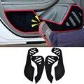 2 Cores Estilo Do Carro Protetor de Borda Lateral Porta de Proteção Pad Proteção Anti-kick Esteiras Capa Para Chevrolet Malibu 2014 2015 2016