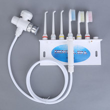 Kraan Monddouche Water Spray Tandenborstel Tandheelkundige Spa Water Jet Bleken Tanden Reinigen Niet Pijn Het Tandvlees