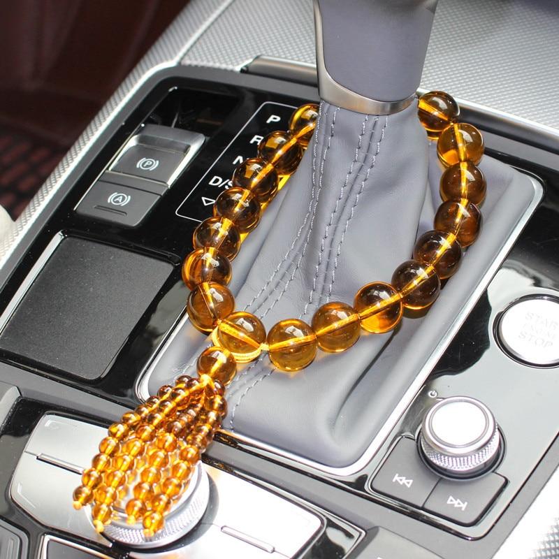 Car Pendant Crystal beads Gear bead The car Interior decoration supplies Car font b accessories b