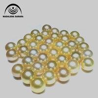 MADALENA SARARA Southsea WATER PEARL 12 13mm natural gold beads