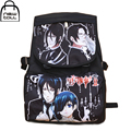 [NEWTALL] 2017 New Anime Black Butler Kuroshitsuji Ciel&Sebastian School Shoulder Bag Backpack New 16080613