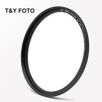 T Y FOTO 77mm HD SLIM Multi Coated L41 UV Filter Lens Protector For Canon Nikon