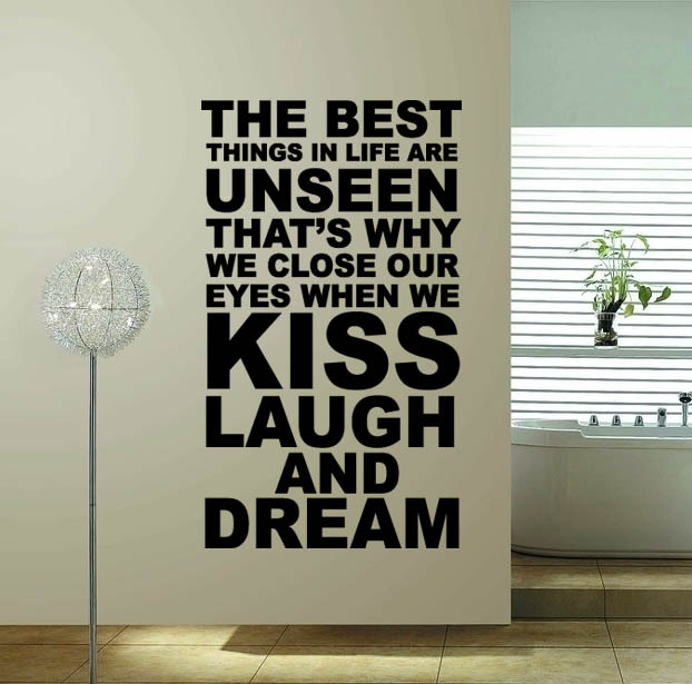 60 100 The Best Thing Hot Sale Word Quote Wall Decor