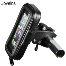 JOVEINS Bicycle Motorcycle Phone Holder Telephone Support for Moto Stand Bag for Iphone X 8Plus GPS