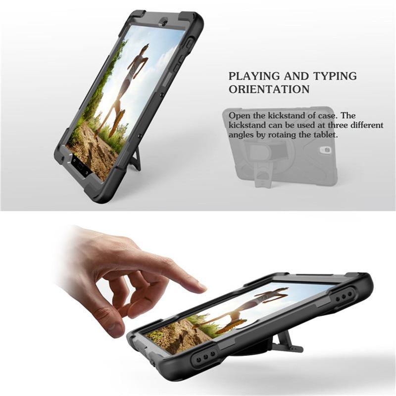 For Tab S3 SM-T820 Kids Funda rígida de silicona resistente a prueba - Accesorios para tablets - foto 5