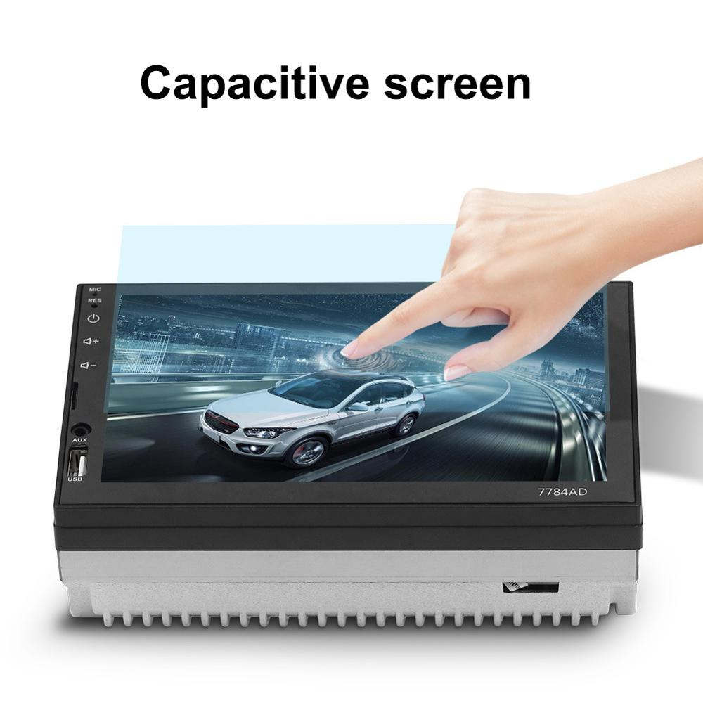 7 pouces voiture Bluetooth MP5 lecteur écran tactile MP4 TF carte SD Android GPS WIFI automobile Mp5 Auto Central multimédia kit nouveau