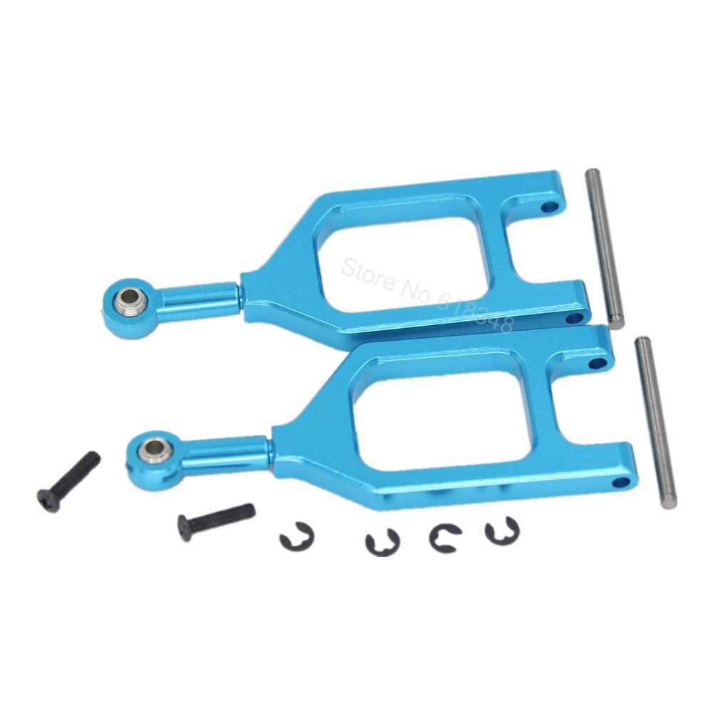 Aluminum Front Upper Suspension Arm 2P L/R L959-05 For WLtoys L959 L969 L979 K959 1/12th RC Car Upgrade Parts