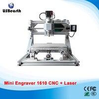 Diy Cnc 1610 Machine Pcb Pvc Milling Machine 2 In 1 Wood Carving Machine Mini Cnc