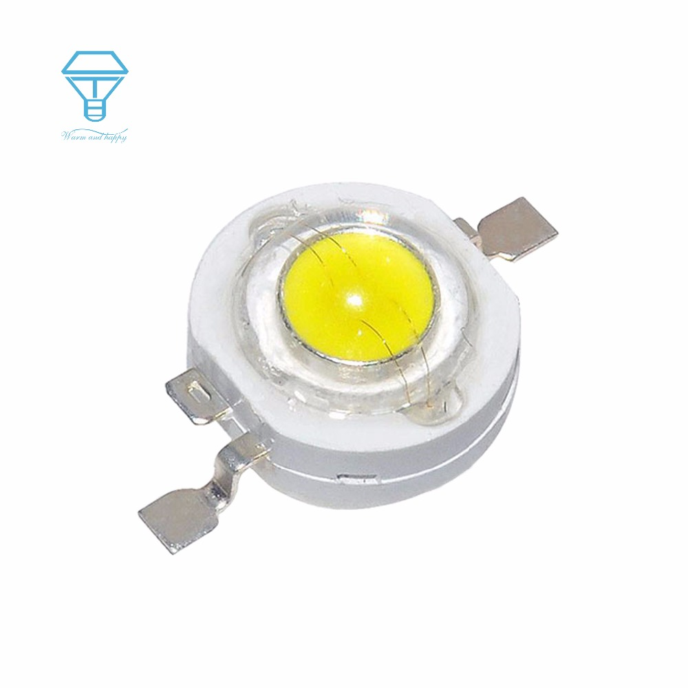 Wholesale Price 1000pcs a Lot 1W Full Power LED Light Diode LEDs Chip SpotLight KIT Diodes