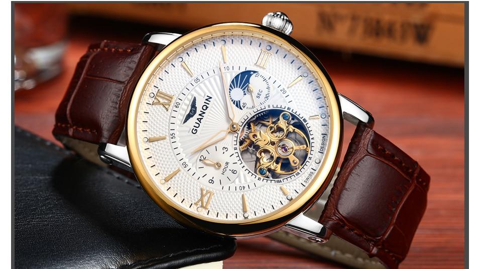High Quality wristwatch skeleton