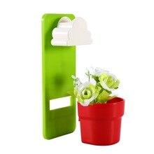 NewTiny Креативный Дизайн Облака Дождливый Завод Цветочный Горшок настенные Растения Главная Сад Украшения Дома