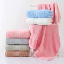 Pure cotton bath towel high-end hotel bath towel be