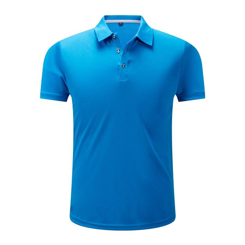 Polo   Shirts Men Casual Solid Short Sleeve Slim Breathable Shirt 2019 Summer Quick Dry Men's Camisa   Polo   Shirts Men Tops 4XL