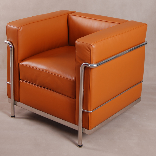 Cool Booth simple modern classic LC2 sofa single leather ...