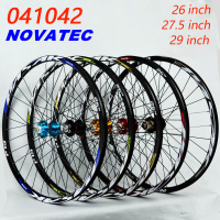 Mountain bike wheel novatel 041042 front 2 rear 4 bearing hub Disc Brake bicycle wheel 26 27.5 29inch wheelset