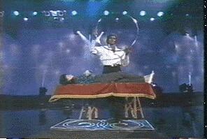 ZANEY BLANEY échelle lévitation/cerceau-grand accessoire pour la magie de scène, tour de magie, mentalisme, magicien