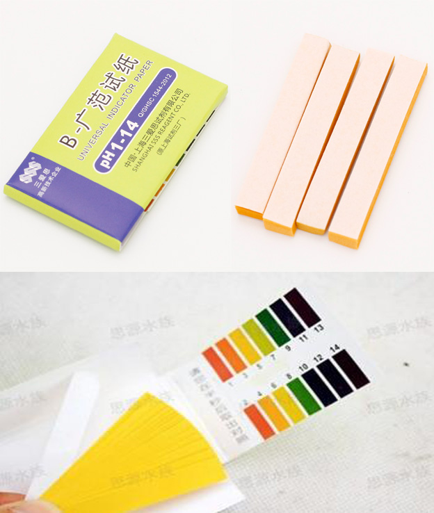 where to buy ph paper Red litmus paper turns blue at a basic ph of about 8, and blue litmus paper turns red at an acid ph of about 5.