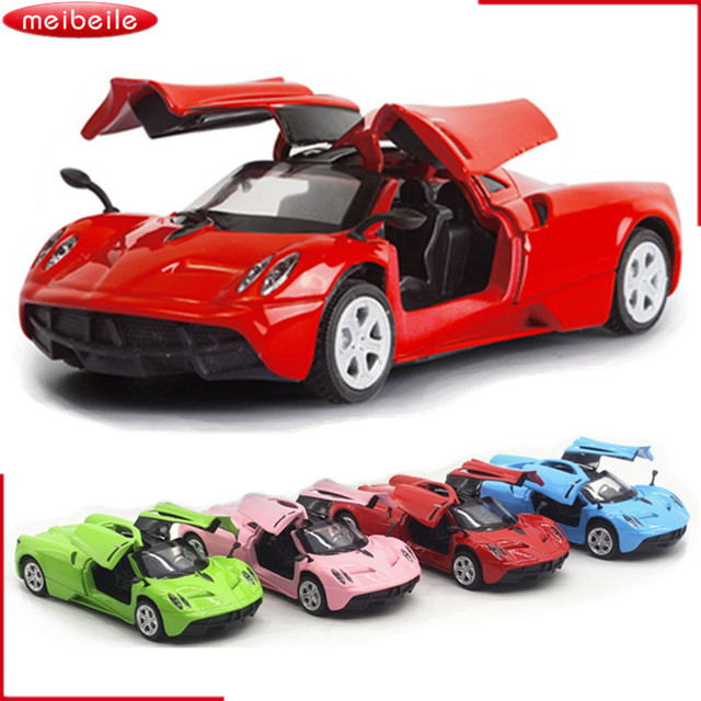1:36 Pagani Huayra Model Pull Back Toys Cars Gift For Boys Kids Collection  Alloy