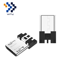 WMZ Micro 2.0 USB Connector 5 Pin Male DIY Adapter