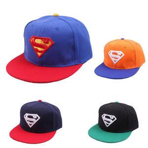 58a1cc5eafe KLV Baseball Caps Superman Hats for Children Hip Hop Gorras