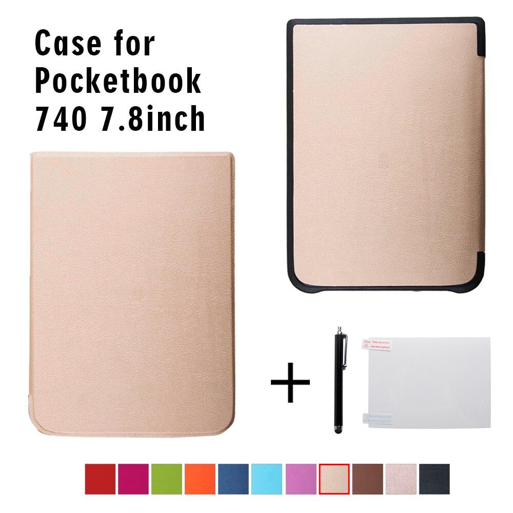Ultra delgado caso de bolsillo 740 InkPad 3 ereader 7,8 pulgadas ebook cubierta + regalo