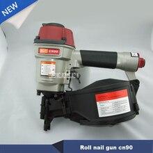 New Arrival High Quality Roll Nail Gun CN90 Coil Nail Guns Air Gun Industrial Pallet Air Nailer kg/cm2 225-275 Nail Hot Selling